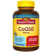 Nature Made CoQ10 400 mg Softgels