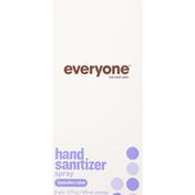Everyone Hand Sanitizer Spray, Lavender + Aloe, 6 Pack