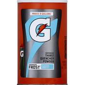 Gatorade Thirst Quencher, 02, Frost, Glacier Freeze, Powder