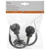 Kenney Holdback Pair, Oil Rubbed Bronze
