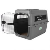 """Petmate 39"""" x 26"""" Extra Large Grey Sky Kennel Pet Carrier"""