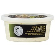 Culinary Circle Dip, Parmesan Artichoke Jalapeno