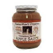Nana Mae's Organic Cinnamon Spiced Apple Sauce