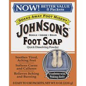 Johnson & Johnson Foot Soap