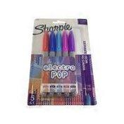 Sharpie Fine Electro Pop Permanent Markers