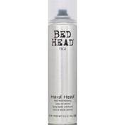 Tigi Bed Head Hairspray, Hard Head, Hard Hold