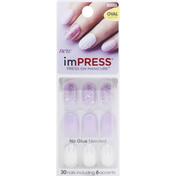 imPRESS Press-On Manicure, Oval Shape, Born to Flex