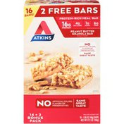 Atkins Peanut Butter Granola Atkins Peanut Butter Granola Meal Replacement Bars