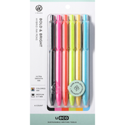 U Brands Hybrid Ink Pens, Bold & Bright