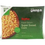 Hy-Vee Fresh Steam Super Sweet Corn