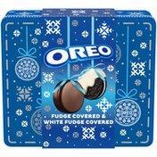 Oreo Fudge Covered & White Fudge Covered Sandwich Cookies