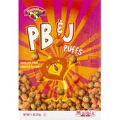 Hannaford Cereal, PB & J Puffs