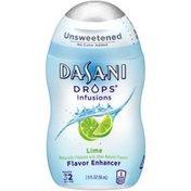 Dasani Drops Infusions Lime Flavor Enhancer
