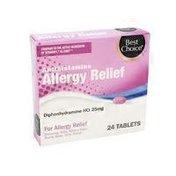Best Choice Antihistamine Allergy Tablets