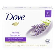 Dove Beauty Bar Relaxing Lavender