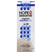 Hope & Sesame Sesamemilk, Organic, Original