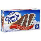 Dean's Country Fresh Ice Cream Sandwiches, Mint Chocolate Chip