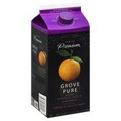 Publix Premium Juice, Orange, Grove Pure, More Pulp