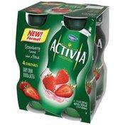 Activia Drinks Strawberry
