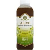 GTs Probiotic Cider, Sparkling, Mate Mint