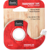 Essential Everyday Tape, Transparent, Glossy Finish