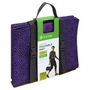 Gaiam Mat, Foldable, On-the-Go