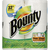 Bounty Paper Towels, Select-A-Size, White, Two-Ply