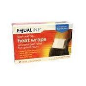 Equaline Back & Hip Heatwraps