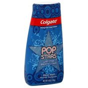 Colgate Toothpaste, Fluoride, Pop Stars, Mild Mint