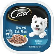 CESAR New York Strip Flavor Filets in Gravy Canine Cuisine