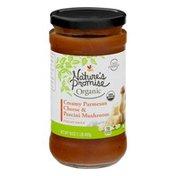 Nature's Promise Organic Italian Sauce Creamy Parmesan Cheese & Porcini Mushroom