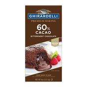 Ghirardelli Premium 60% Cacao Bittersweet Chocolate Baking Bar
