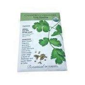 Botanical Interests Organic Cilantro Coriander Seeds