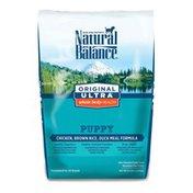 Natural Balance Puppy Food, Ultra Premium, Chicken, Brown Rice, Duck Meal, Puppy Formula