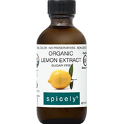 Spicely Lemon Extract, Organic