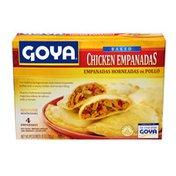 Goya Baked Chicken Empanadas, Frozen