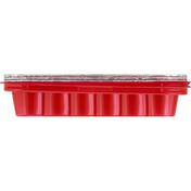 Handi-Foil Cake Pans, with Lids, Red