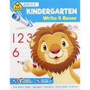 School Zone Workbook, Kindergarten, Ages 5-6