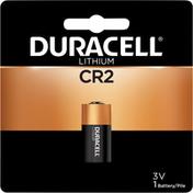 Duracell Battery, Lithium, CR2, 3V