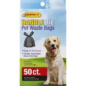 Ruffin' It Pet Waste Bags, Handle Tie