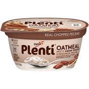 Yoplait Plenti Greek Cinnamon Pecan Oatmeal with Yogurt