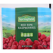 Springfield Red Raspberries, Red Ripe