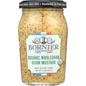 Bornier Dijon Mustard, Organic, Wholegrain