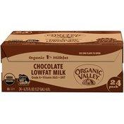 Organic Prairie Organic 1% Milkfat Lowfat Chocolate Milk
