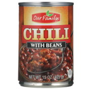 Our Family Chili With Beans