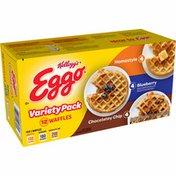 Eggo Frozen Waffles, Frozen Breakfast, Toaster Waffles, Variety Pack