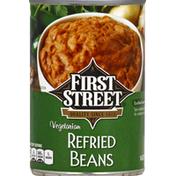 First Street Beans, Vegetarian, Refried