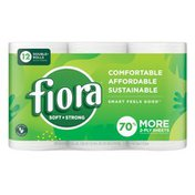 Fiora Toilet Paper Double+ Roll, 2-ply