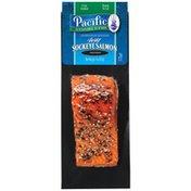 Pacific Sustainable Seafood Wild Sockeye Hardwood Smoked Pepper Salmon