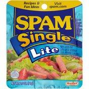 SPAM Single Lite Sliced Meat